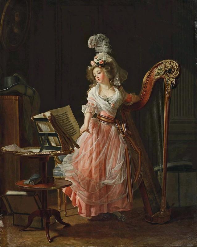 Michel Garnier - La jeune musicienne (1788)