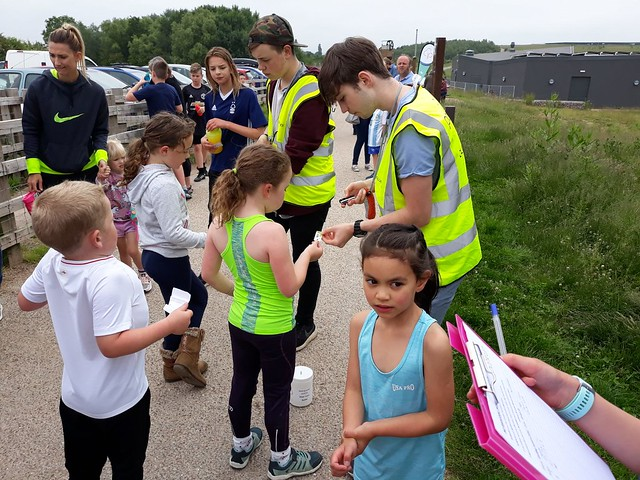 Gedling junior parkrun 10th June 2018