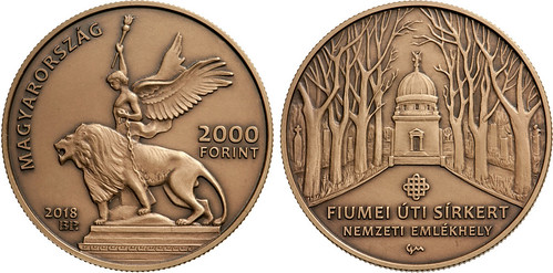 Fiumei Road Cemetery coin
