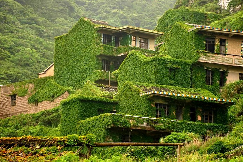 Pueblo abandonado China