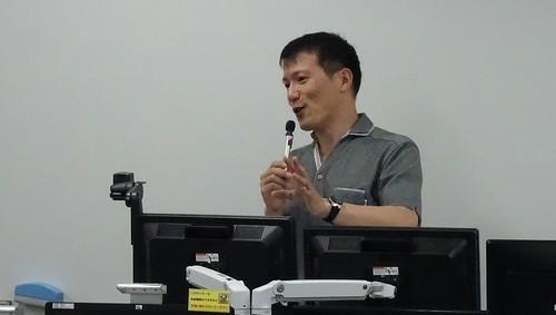 愛知大学でバーチャルユーチューバーの中の人が講義
