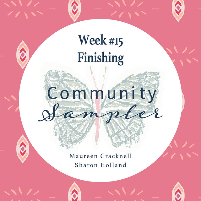 Community Sampler: Finishing!