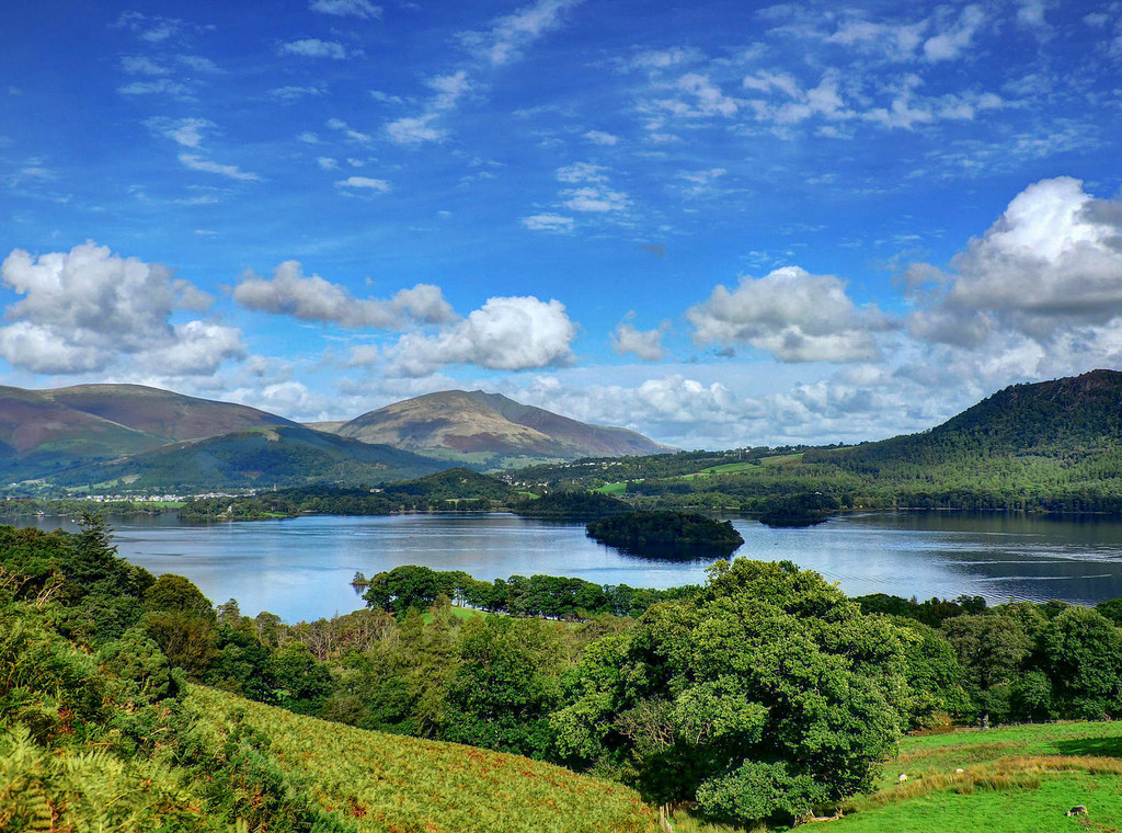 Derwent Water, Lake District. Credit Baz Richardson