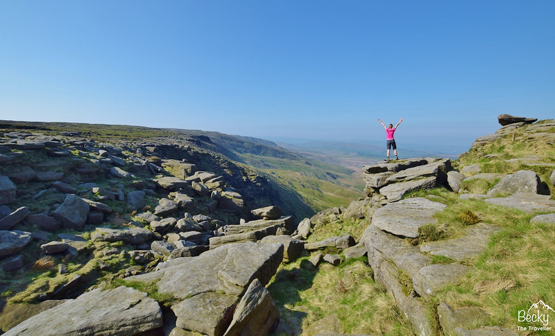 Edale walks - Peak District - Edale via Kinder Downfall hike