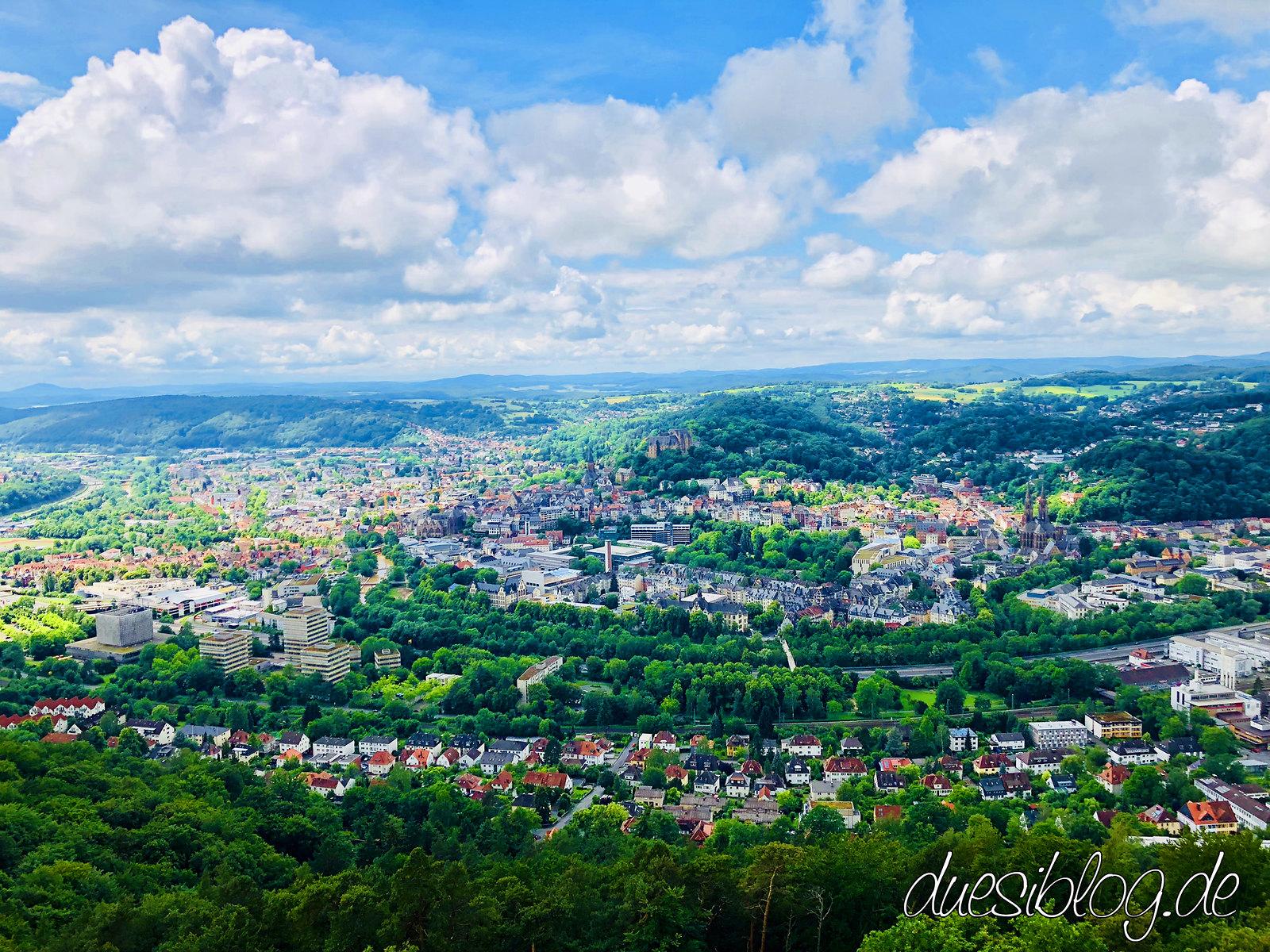 Marburg Kaiser-Wilhelm-Turm Spiegelslustturm Travelblog Düsiblog 06