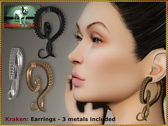 Bliensen - Kraken - Earrings