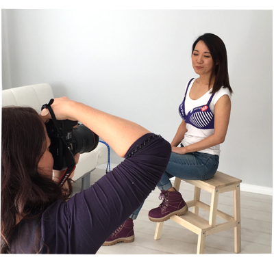 IGA Purple Bra Day 2018 Shoot
