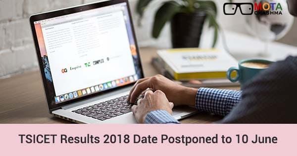 tsicet results 2018 date postponed to 10 june