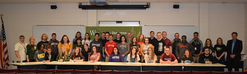 WFHS Music Signing Day