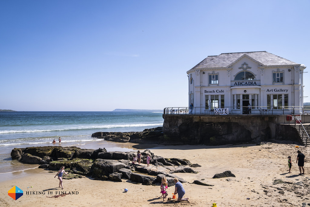 Beach café at Portrush East Strand