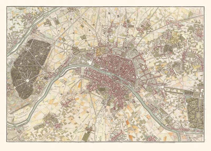 Jean Delagrive - Neuvième plan de Paris (1740)