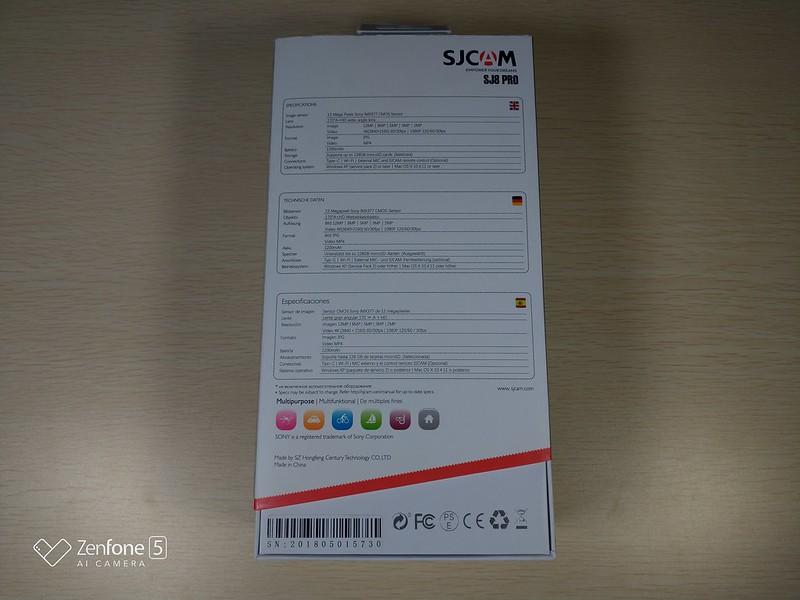 SJCAM SJ8 Pro 開封レビュー (7)