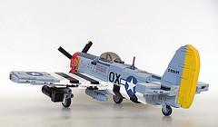 """Republic P-47D """"Thunderbolt"""" (Brickmania design improved)"""