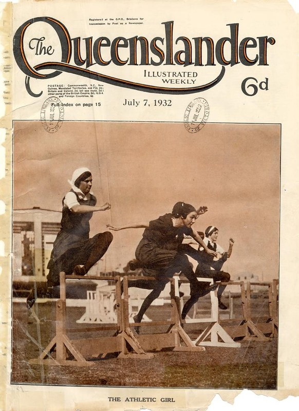 392ae273be01 Illustrated front cover from The Queenslander
