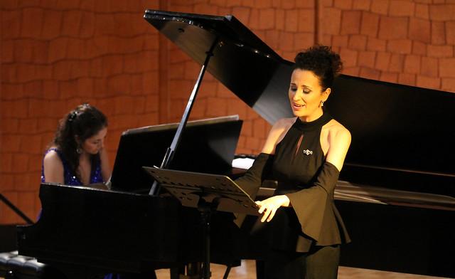 """AGUAS DE PRIMAVERA - LE PASQUÍN POÉTICO - MARTA ARCE, SOPRANO & ELISA RAPADO, PIANO - AUDITORIO """"ÁNGEL BARJA"""" CONSERVATORIO DE LEÓN 9.6.18"""