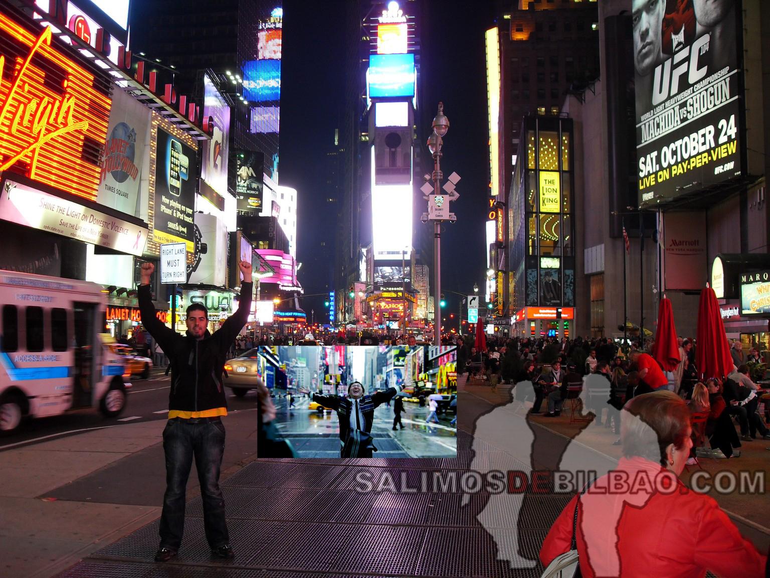 Homenaje a Hiro Nakamura New york city Times Square Yataa!