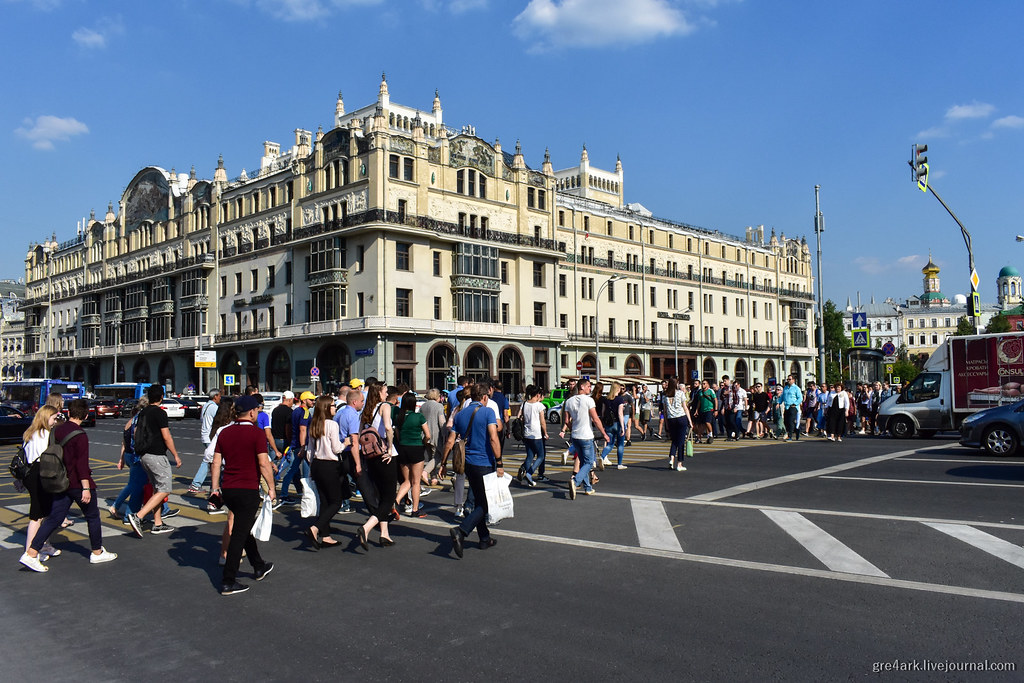 Чему поучиться у Москвы общественные зоны