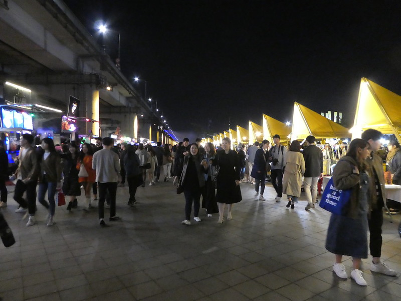 Banpo Night Market, Seoul