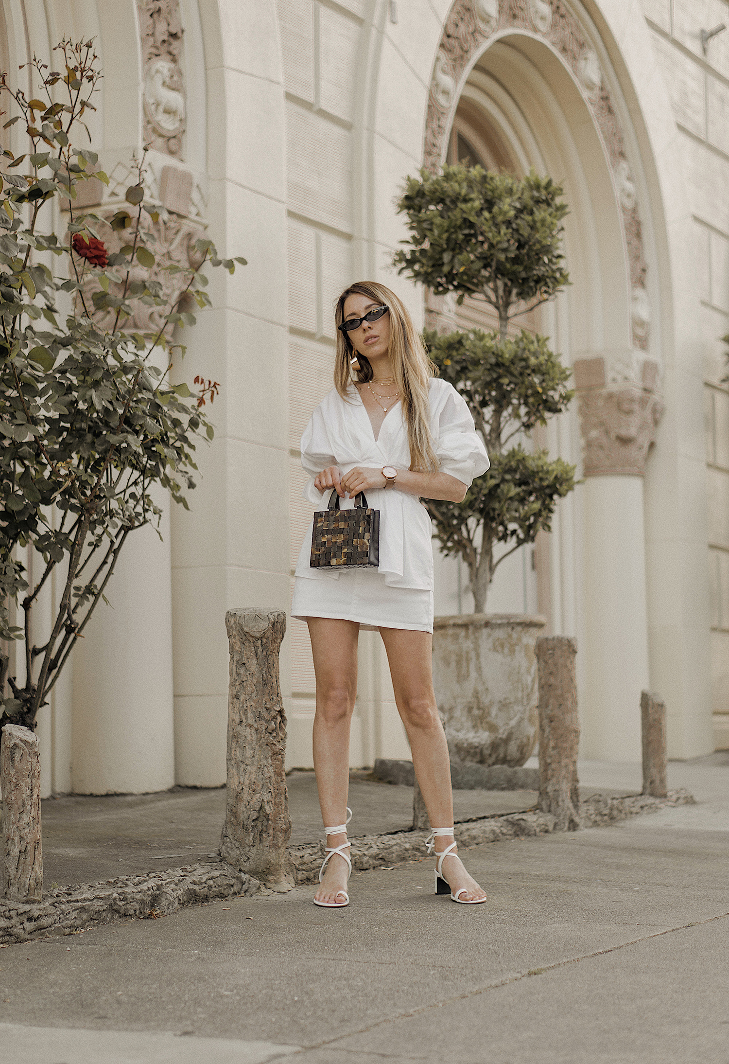 white_outfit_look_ideas_street_style_total_white_Céline_inspired_Ring_Toe_Lace_Up_Sandals_summer_san_francisco_fashion_blogger_bay_area_the_white_ocean_lena_juice_01