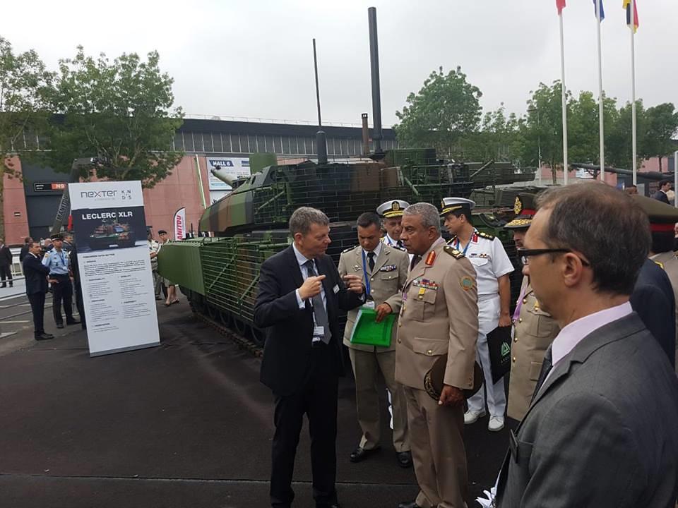 افتتاح معرض  Eurosatory 2018 الدولي للدفاع والأمن بباريس 40948932340_f1916b1e50_b