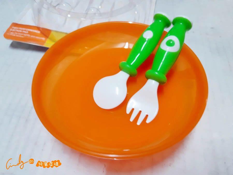 小獅王辛巴吸盤學習餐具組