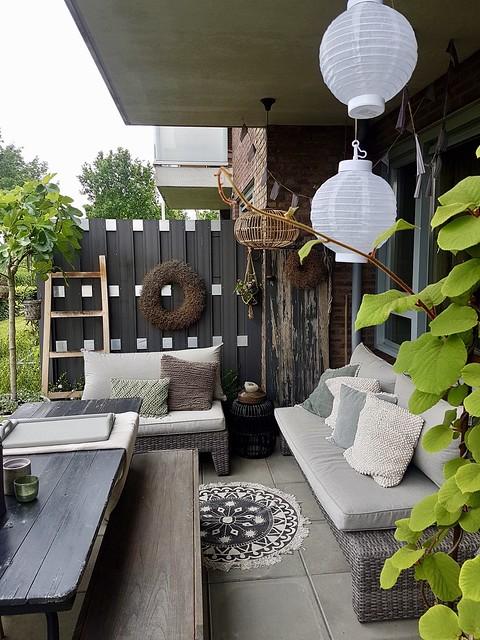 Lampionnen veranda balkon terras