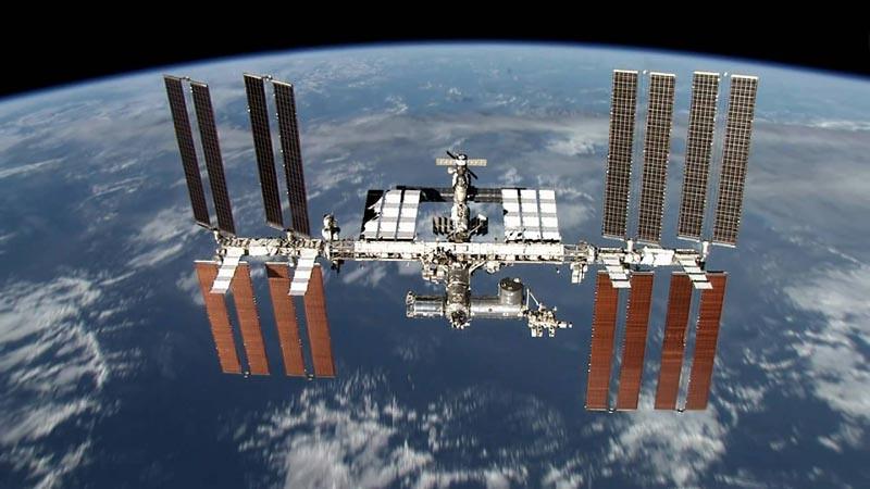 Stasiun Luar Angkasa Internasional.