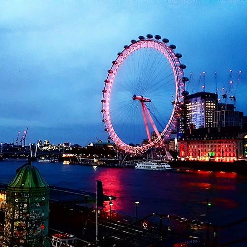 Londra: vista al tramonto