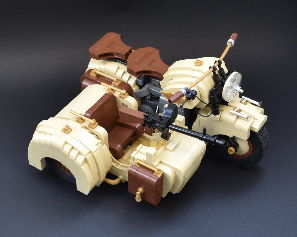 old bike lego moc