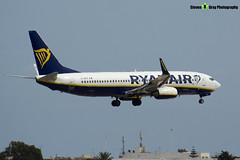 EI-DPZ - 33616 - Ryanair - Boeing 737-8AS - Luqa Malta 2017 - 170923 - Steven Gray - IMG_0830