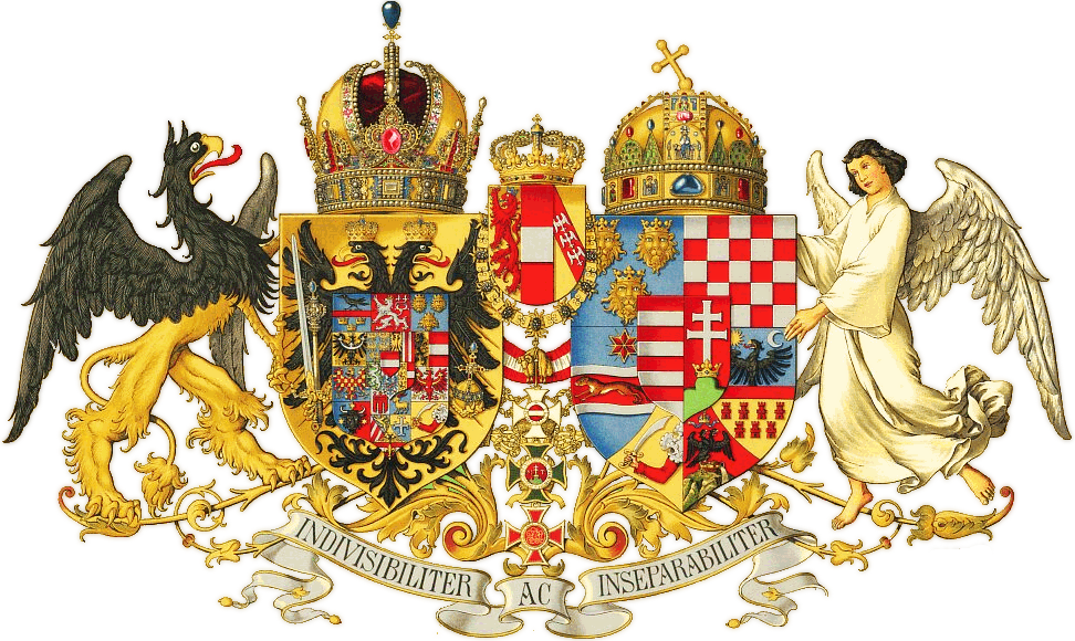 Common medium coat of arms of Austria-Hungary (1915–1918)
