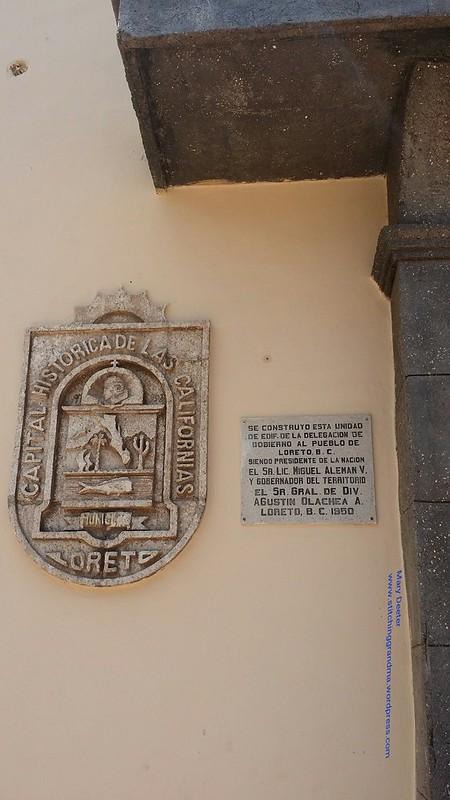 Sign outside the Capital Historica de Las Californias