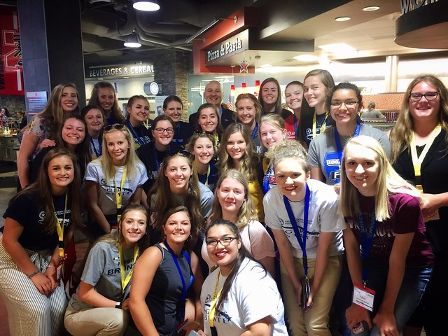Gov. Ricketts Visits Boys and Girls State Delegates