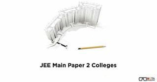JEE Main BArch Paper 2 Colleges