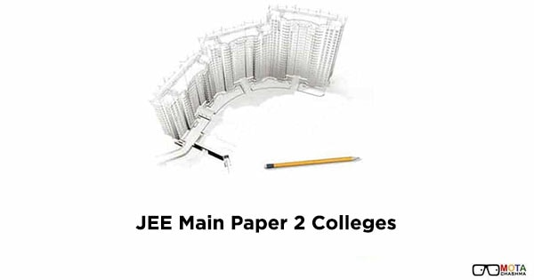 jee main b arch colleges and admission