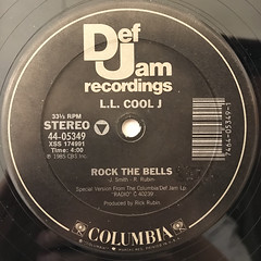L.L. COOL J:ROCK THE BELLS(LABEL SIDE-A)