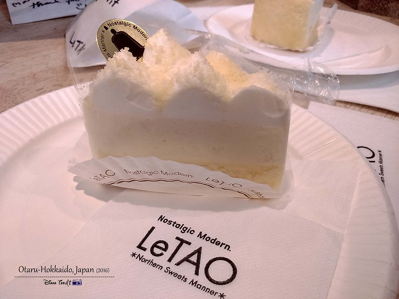 LeTao Double Frommage Cheesecake 01