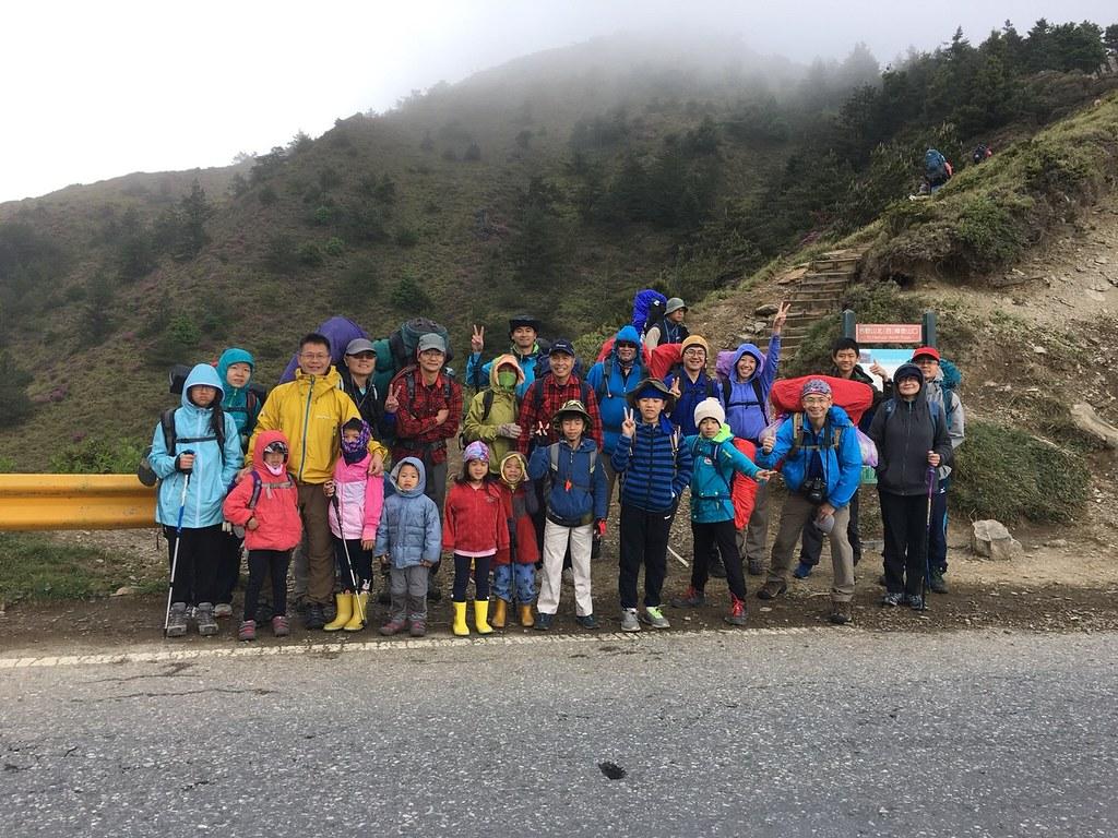 20180602合歡北峰會師 天鑾池隊