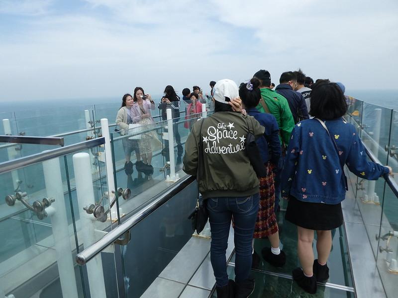 Oryukdo Skywalk, Busan