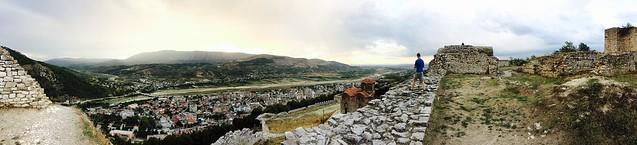 Berat Castle Panorama 04