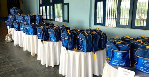 Entrega dos Kits AABB Comunidade