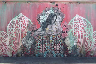 Swoon street art, Wynwood