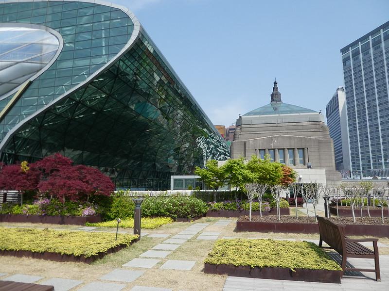 Seoul Metropolitan Library Rooftop Garden