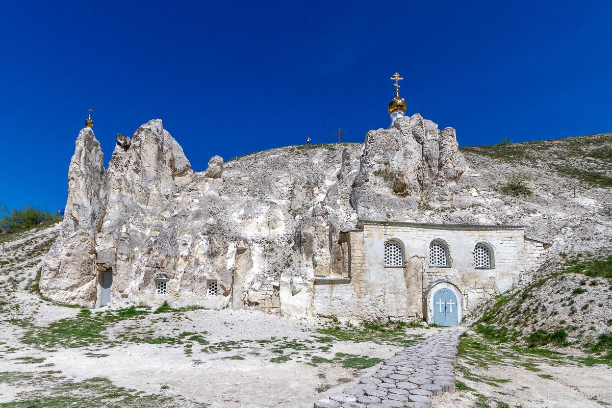 Пещерная церковь Дивногорского Свято-Успенского мужского монастыря фото 4