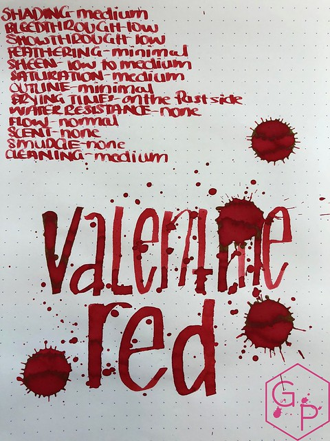 Monteverde Valentine's Red Ink Review @MonteverdePens 5