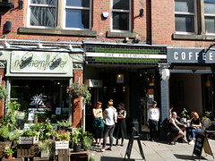Shop in Manchester's Northern Quarter