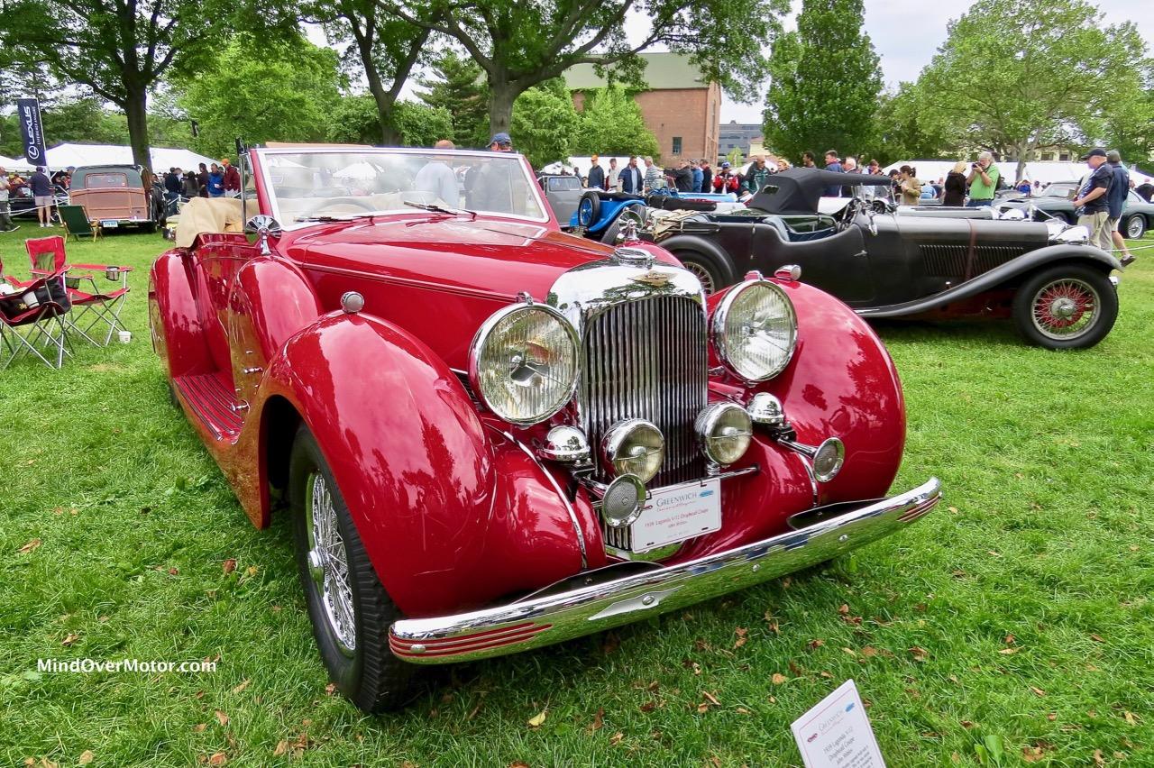 1939 Lagonda V12 Cabriolet Front 1