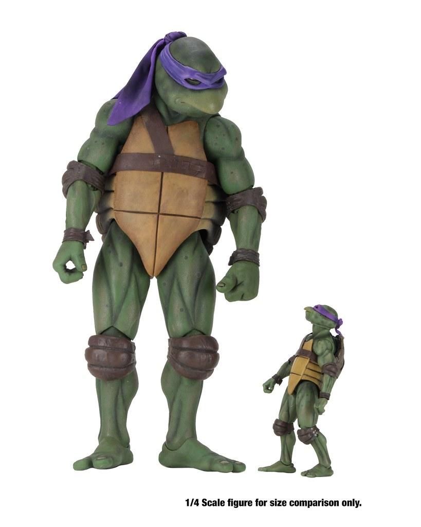 Neca Teenage Mutant Ninja Turtles 1990 Movie Action Figure Box Set