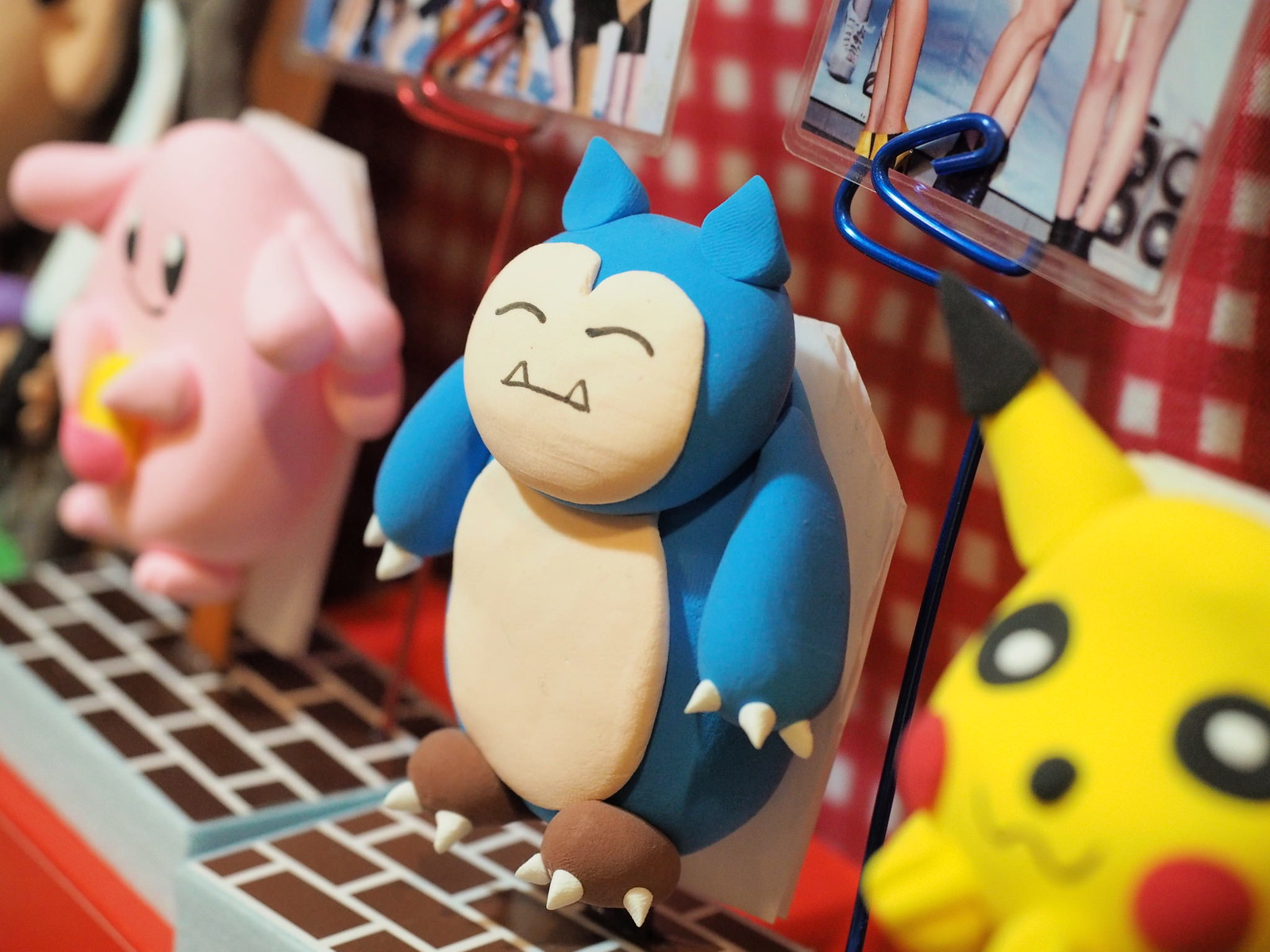 Snorlax is also available here.