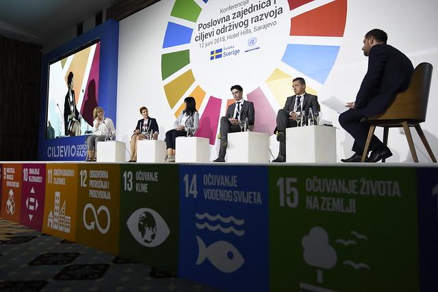 """Konferencija """"Poslovna zajednica i ciljevi održivog razvoja"""", Sarajevo, 12. jun/lipanj 2018. godine"""